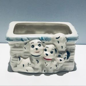 💥3/$20💥 Dalmatians Planter Ceramic Hand Painted